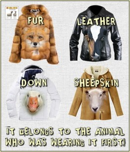 Fur and skin trade - Belongs to the animal wearing